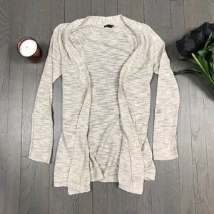 Express Long Sleeve Open Front Cardigan Sweater